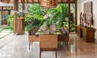 Windu Villas Villa Windu Sari Dining Area | Petitenget, Bali