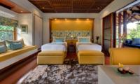 Windu Villas Villa Windu Sari Twin Bedroom with Sofa | Petitenget, Bali