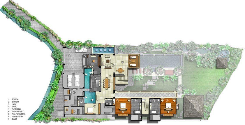 Kemala Villa Floor Plan