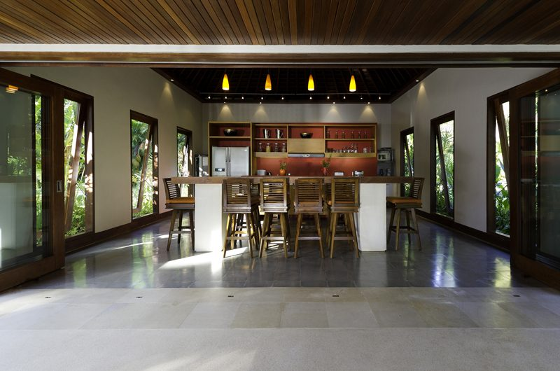 Villa Anandita Kitchen and Dining Area | Lombok, Indonesia