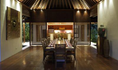 Villa Anandita Dining Area | Lombok, Indonesia