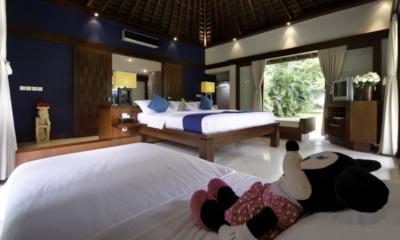 Villa Anandita Bedroom with Kids Bed | Lombok, Indonesia