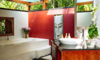 Villa Anandita Bathroom with Bathtub | Lombok, Indonesia