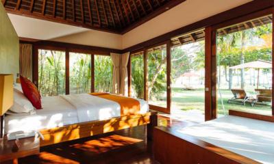 Villa Anandita Bedroom with Wooden Floor | Lombok, Indonesia