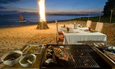 Villa Sepoi Sepoi Beachfront Dining | Lombok, Indonesia