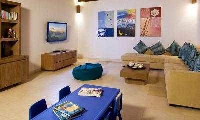 Villa Sepoi Sepoi TV Room | Lombok, Indonesia