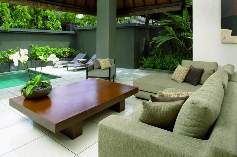 Ahimsa Estate Indoor Living Area   Petitenget, Bali
