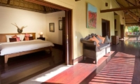 Alamanda Villa Bedroom & Outdoor Area | Ubud, Bali