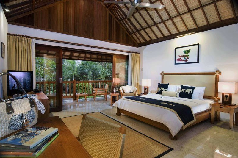 Elephant Safari Park Lodge Bedroom I Ubud, Bali