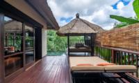Hanging Gardens of Bali Sun Bed and Bale Area   Ubud, Bali
