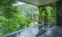 Hanging Gardens of Bali Spa Pool Area   Ubud, Bali