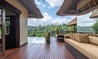 Hanging Gardens of Bali Outdoor Seating   Ubud, Bali