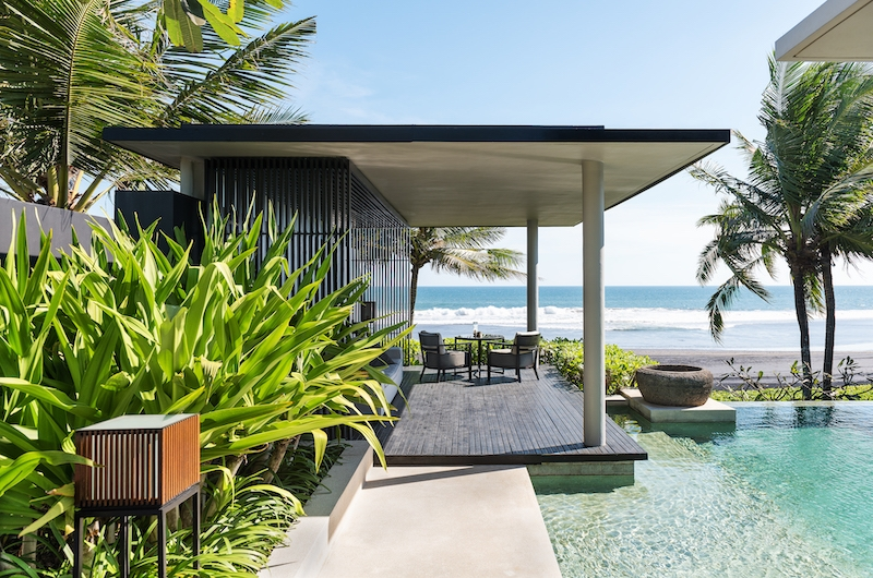Soori Bali Seating with Sea Views   Tabanan, Bali