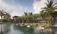 Soori Bali Swimming Pool Area   Tabanan, Bali