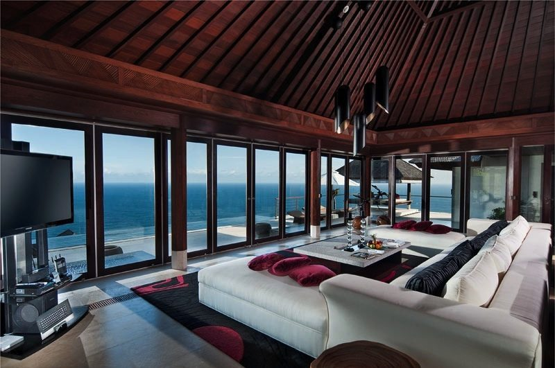 The Edge Indoor Living Room I Uluwatu, Bali