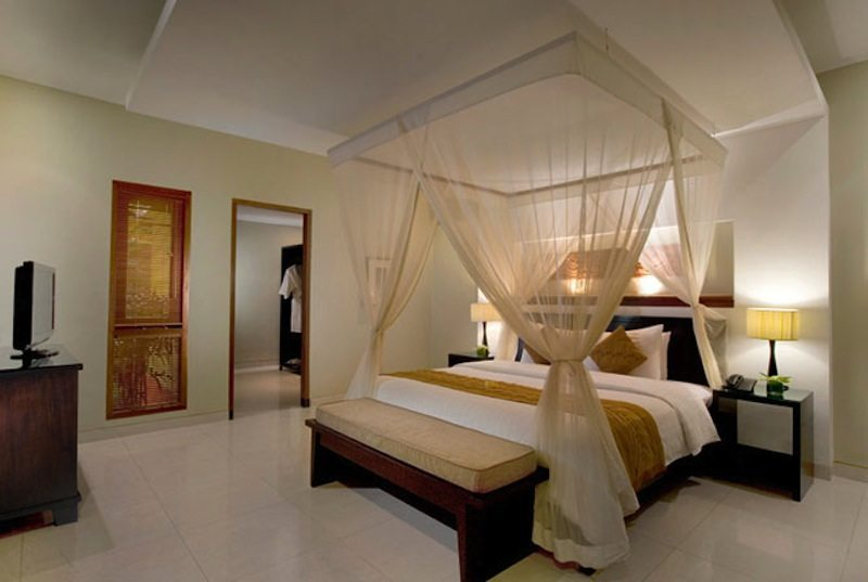 The Kunja Master Bedroom l I Seminyak, Bali