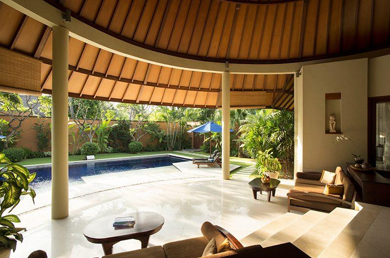 The Kunja Living Area with Pool View | Seminyak, Bali