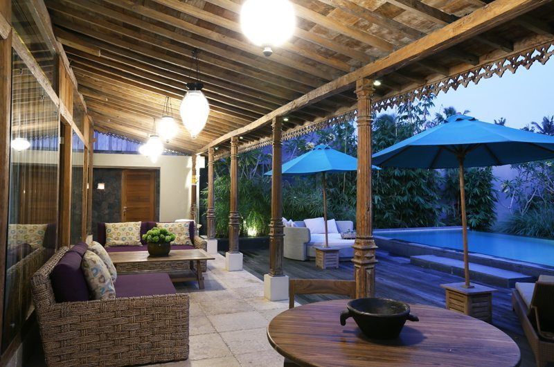 The Purist Villas Outdoor Lounge | Ubud, Bali