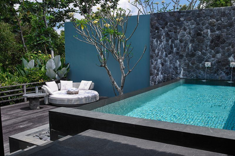 The Purist Villas Pool Side Seating | Ubud, Bali