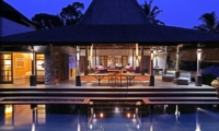 The Purist Villas Living And Dining Pavilion | Ubud, Bali