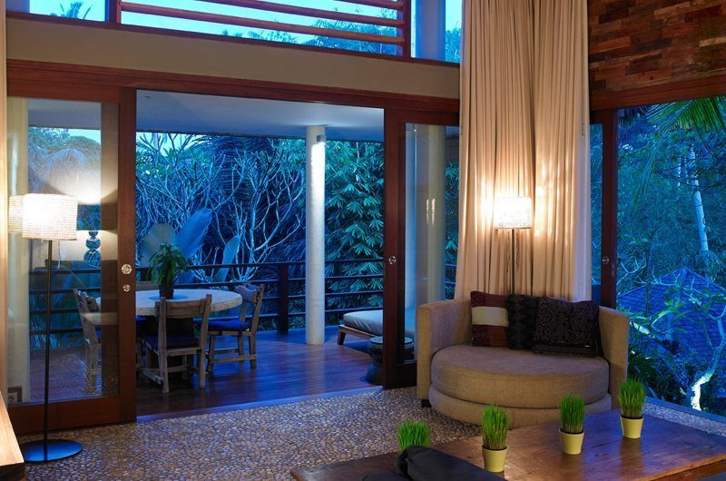 The Purist Villas Living And Dining Area | Ubud, Bali