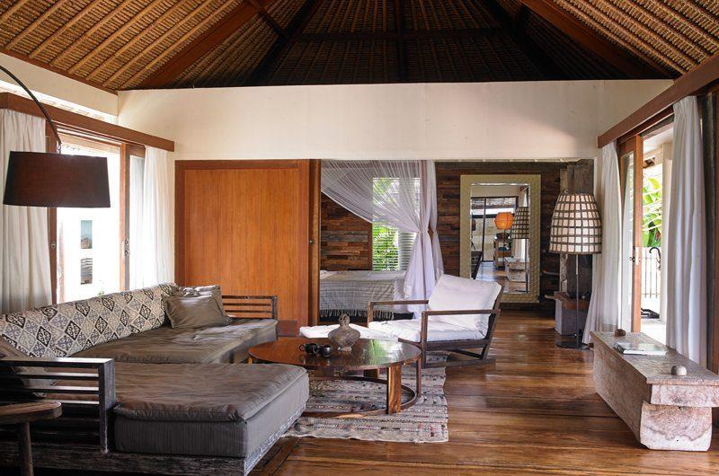 The Purist Villas Living Room   Ubud, Bali