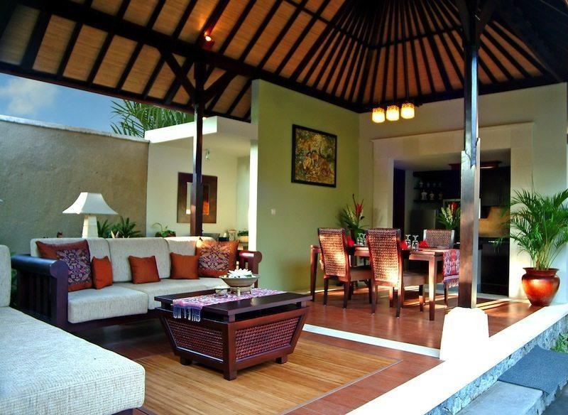 The Sanyas Suite Living Room I Seminyak, Bali