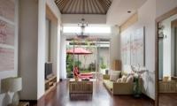 The Seiryu Villas Living Room | Seminyak, Bali