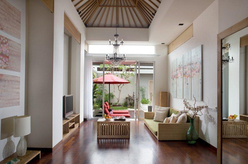 The Seiryu Villas Living Room Seminyak, Bali