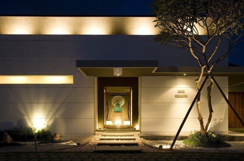 The Seiryu Villas Entrance | Seminyak, Bali