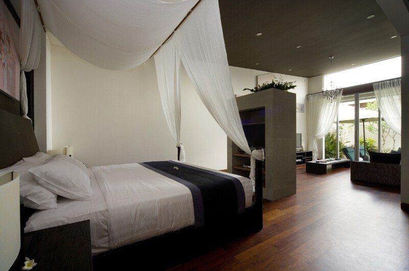 The Seiryu Villas Master Bedroom Side View | Seminyak, Bali
