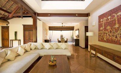 Villa Kubu 3BR Living Room   Seminyak, Bali