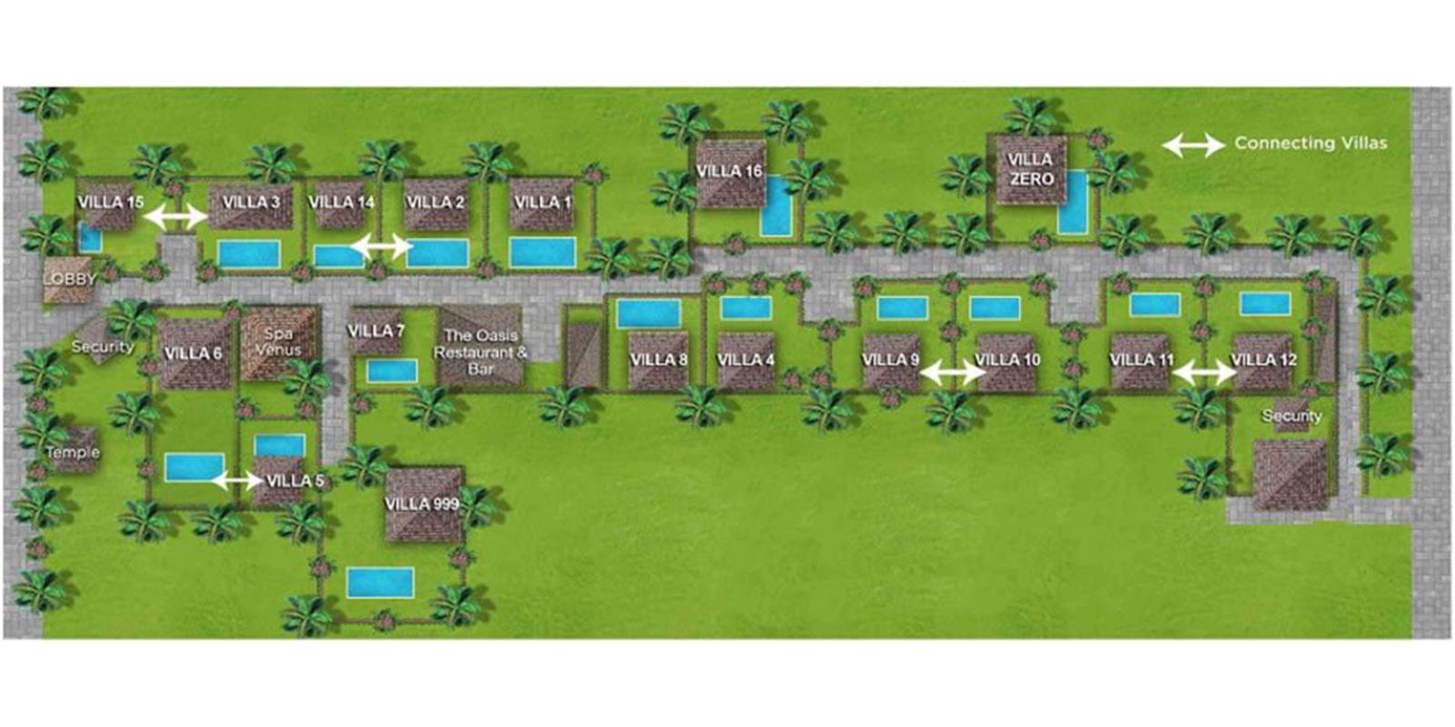 Villa Kubu Floor Plan | Seminyak, Bali