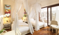 Villa Mako Twin Bedroom Area | Canggu, Bali