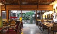 Villa Mako Open Plan Dining Area | Canggu, Bali