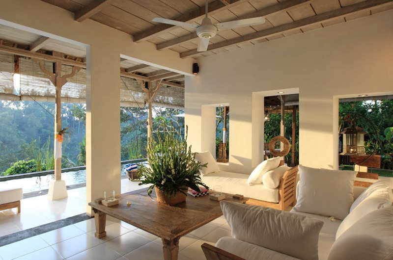 Villa Shamballa Living Area I Ubud, Bali