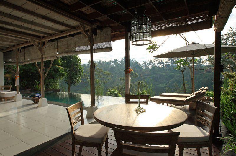 Villa Shamballa Open Living Area I Ubud, Bali