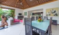 Villa Zanissa Villa Nissa Dining Area | Seminyak, Bali