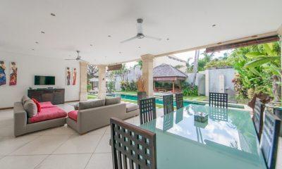 Villa Zanissa Villa Zack Living And Dining Room   Seminyak, Bali