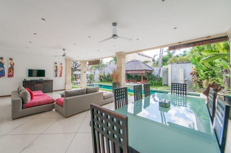 Villa Zanissa Villa Zack Living And Dining Room | Seminyak, Bali