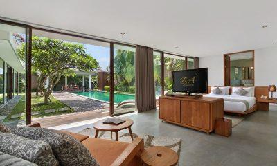 Ziva A Boutique Master Bedroom Front View | Seminyak, Bali