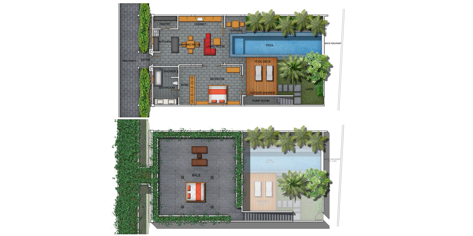 Bali Island Villas Floorplan | Seminyak, Bali