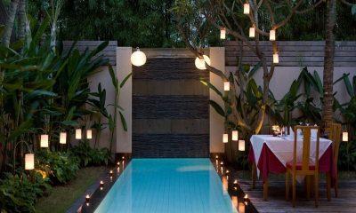 Bali Island Villas Pool Side Dining | Seminyak, Bali