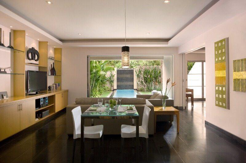 Bali Island Villas Living And Dining Area | Seminyak, Bali