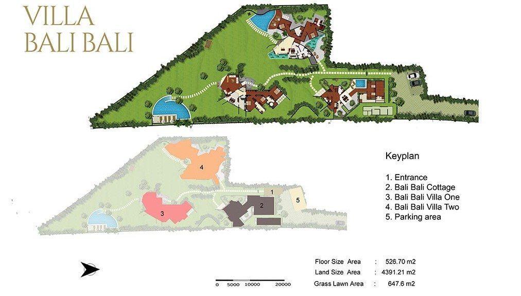 Villa Bali Bali Floor Plan