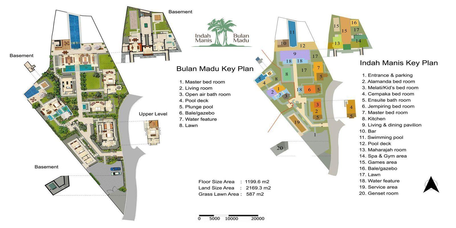 Bali Indah Manis Villa Floorplan