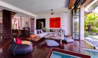 Majapahit Beach Villas Maya Indoor Seating | Sanur, Bali