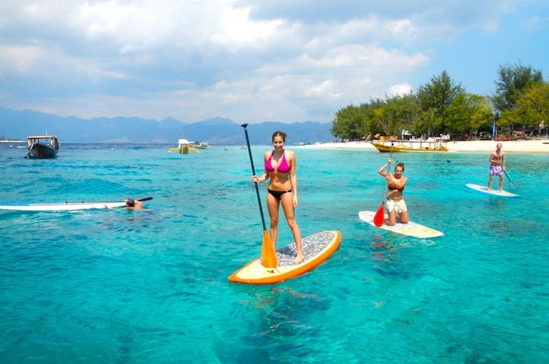 Stand Up Paddle Board Gili Islands