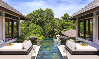The Arsana Estate Pool Side Seating Area | Tabanan, Bali