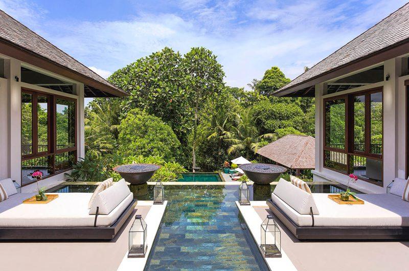 The Arsana Estate Pool Side Seating Area | Tabanan, Bali